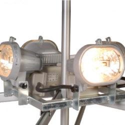 Bloc éclairage 4 X 150 watts