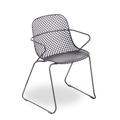 CHAISE RAMATUELLE 73′ Gris Pavement