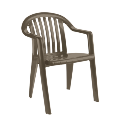 Fauteuil MIAMI BAS Grosfillex Taupe