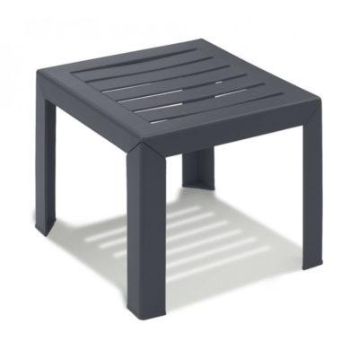 Table basse MIAMI Grosfillex 40×40 Anthracite