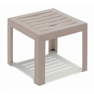 Table basse MIAMI Grosfillex 40×40 Lin
