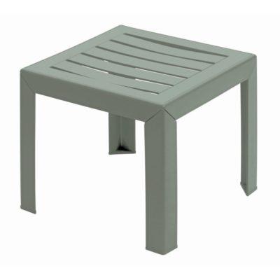 Table basse MIAMI Grosfillex 40×40 Vert Tender