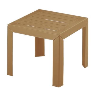 Table basse MIAMI Grosfillex 40×40 Bois