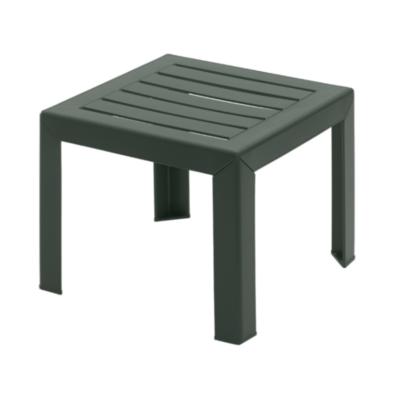Table basse MIAMI Grosfillex 40×40 Vert Amazonie