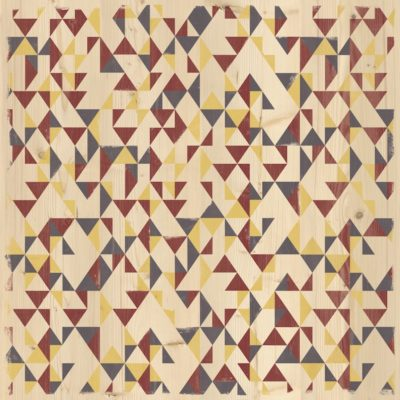 Plateau COLOR TOP Grosfillex 70×70 Gypsy Rouge