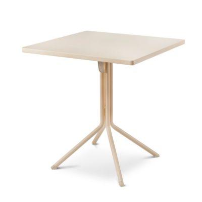 Table DUO RAMATUELLE 73 Grosfillex 70x70cm Crème Absolue