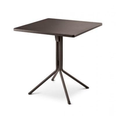 Table DUO RAMATUELLE 73 Grosfillex 70x70cm Gris Pavement